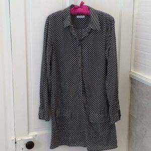 Equipment brand Shirt dress